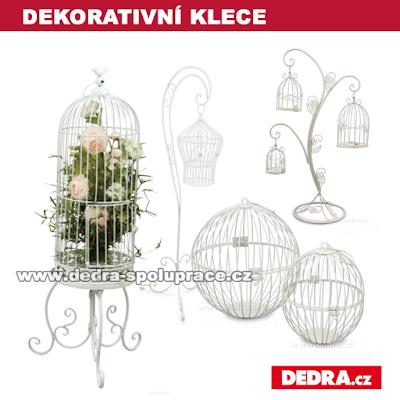 dekorativní klece