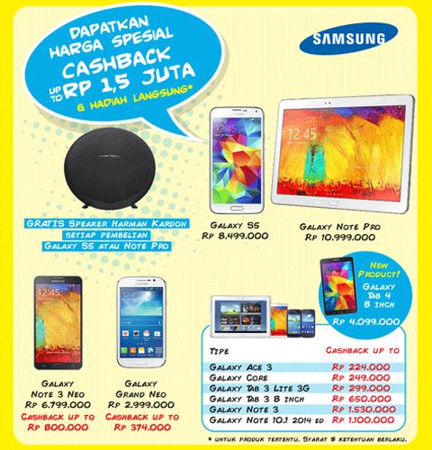 Daftar Promo OkeShop di ICS 2014