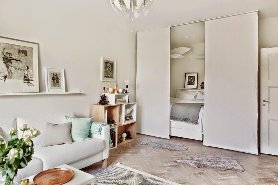 Decotips] cómo dividir ambientes en un dormitorio abierto ...