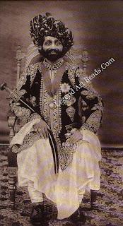 Nawab Sher Muhammad khan Zorawar (1852-1918), Diwan of Palanpur, in 1902.
