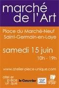 SAINT GERMAIN EN LAYE : CAPTON AU 6ème MARCHÉ DE L'ART