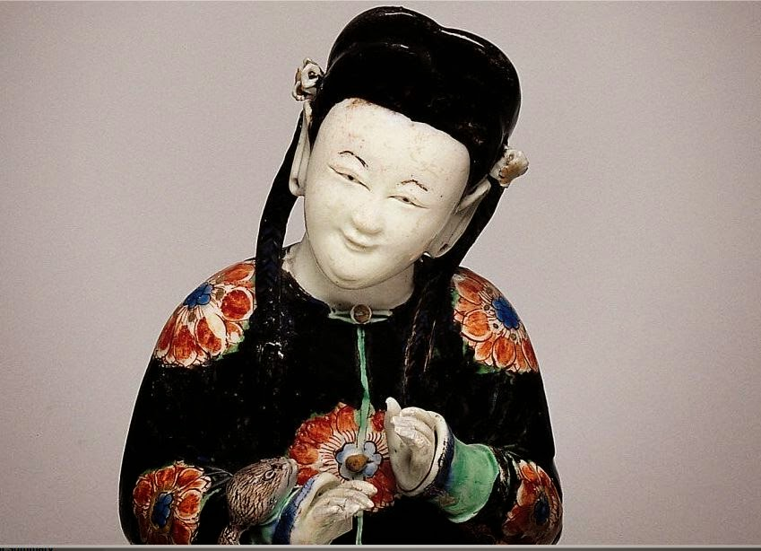 "<img src=""Chinese Female Biscuit figure .jpg"" alt=""With Famille verte enamels"">"