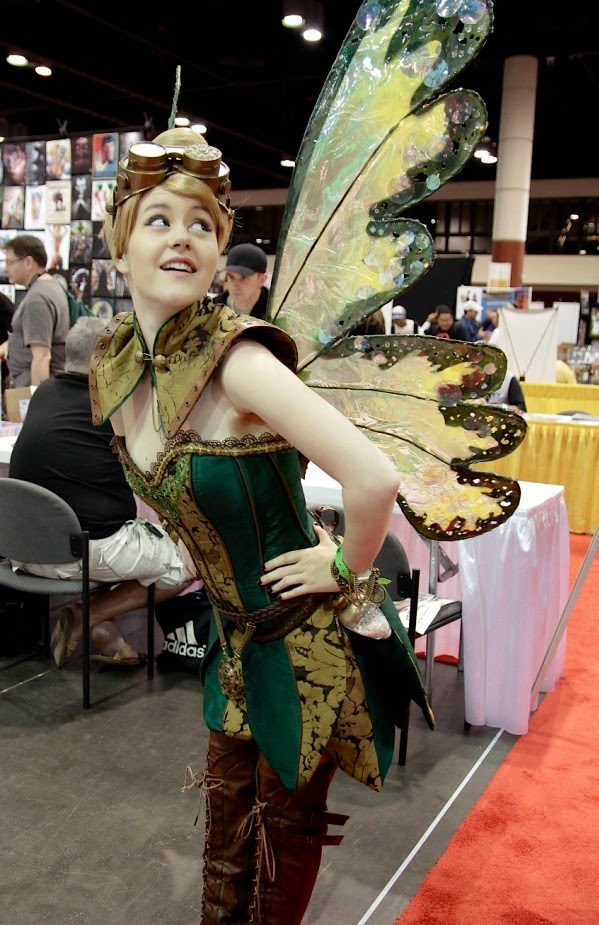 Disney Tinkerbell Steampunk Cosplay