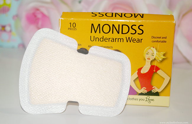 Avoid perspiration stains on your clothes by using Mondss Underarm Wear