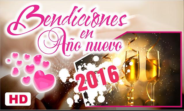 Fotos Imagenes para Felicitar el Año Nuevo 2016 Videos