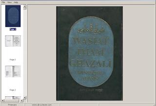 Download Kitab Minhajul Abidin (Wasiat Imam Ghozali)