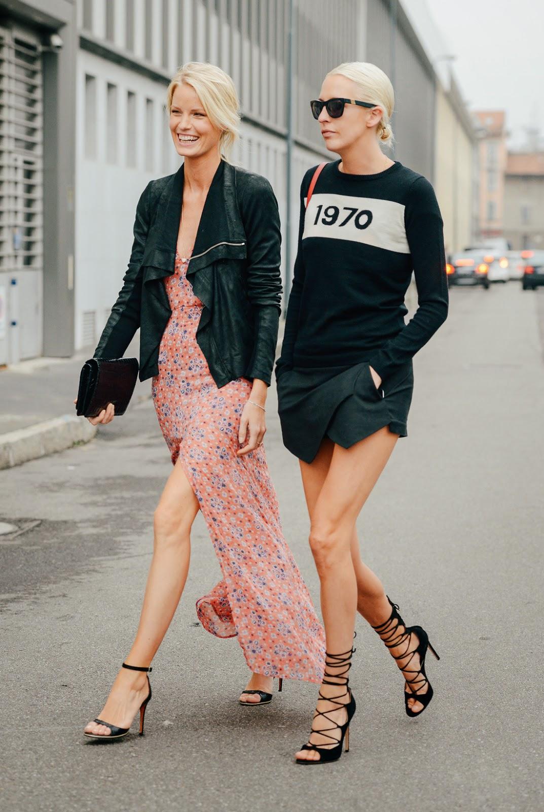 Street Style Feminino Milan Fashion Week 2015 Aline Vissoto