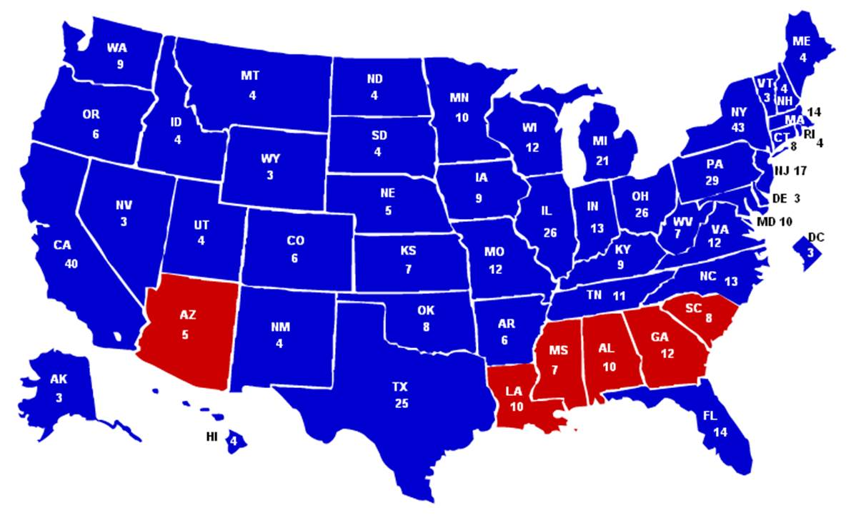 election in history in terms of electoral votes and the fifth most lopsided in terms of popular votes the final count was 486 electoral votes to 52