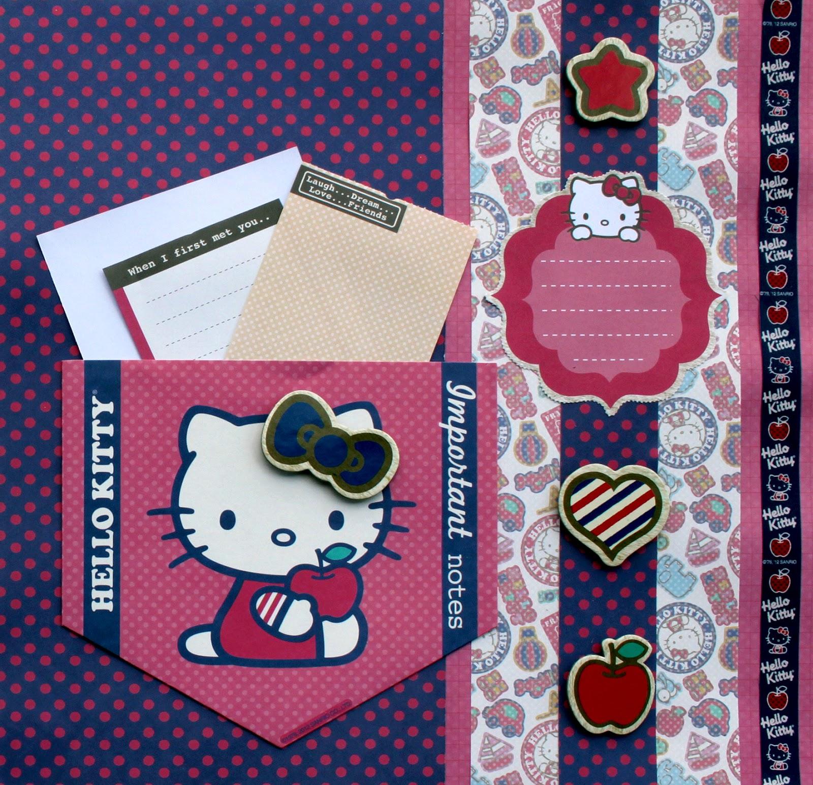 Hello kitty scrapbook ideas - Hello Kitty Scrapbook Ideas 10