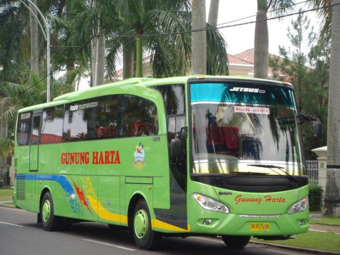 Harga Tiket Bus Gunung Harta Telunjuk Transport