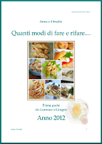 PDF DELLE RICETTE RIFATTE 2012-PRIMA PARTE