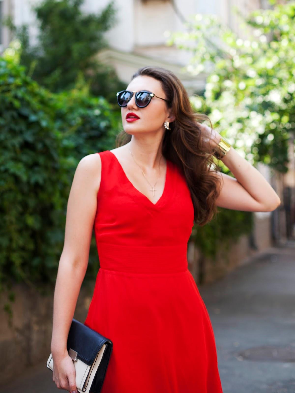 Lady in red, Эвелина Попова