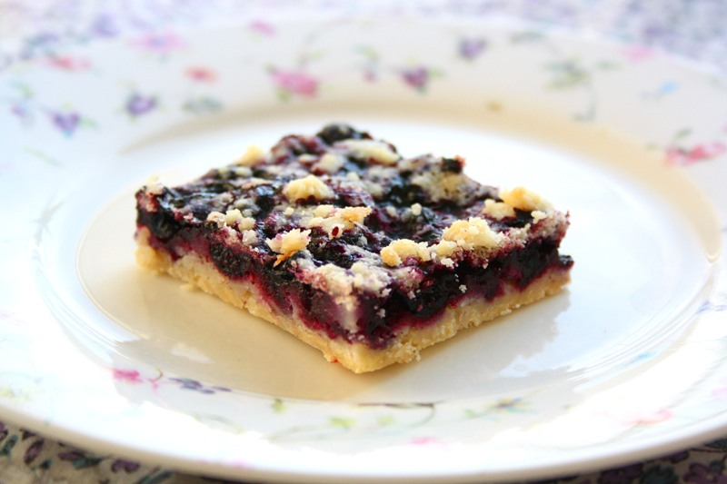 collecting memories: Blueberry Crumb Bars