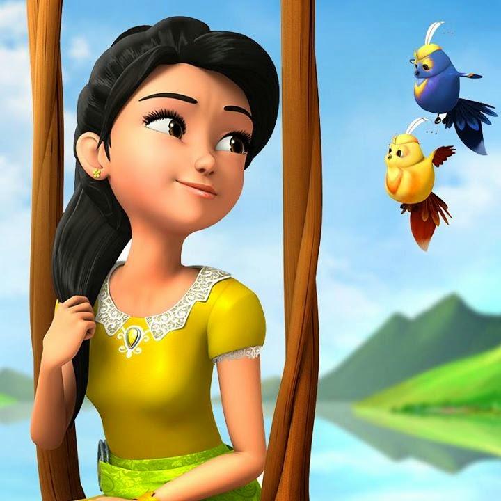 Faceblogisra Puteri Animasi Terbaru Keluaran Les Copaque