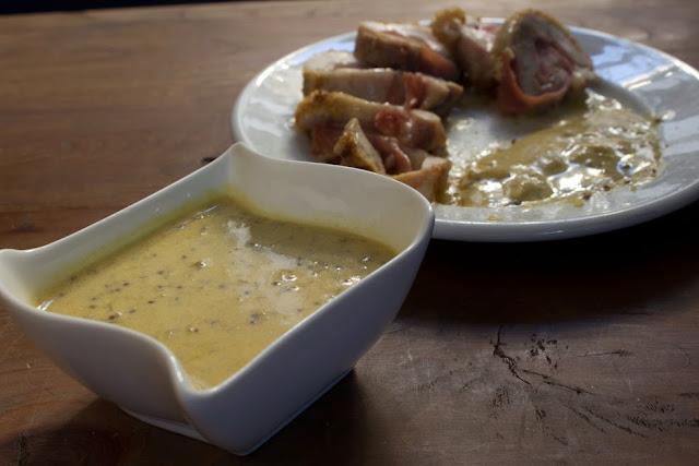 Salsa de Mostaza terminada