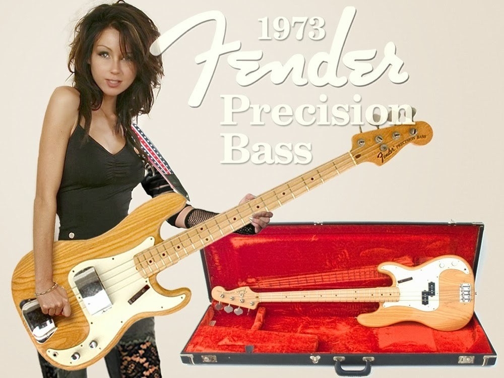 1973 Fender Precision Bass Review