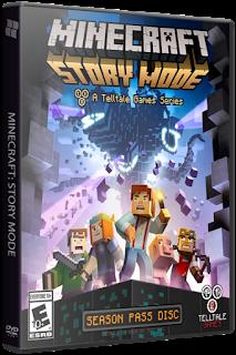 لعبة ميني كرافت للكمبيوتر Minecraft Story Mode  A Telltale Games Series. Episode 1-3 (2015) PC RePack