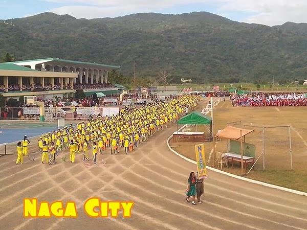 Palarong Bicol 2014 Naga City Delegation