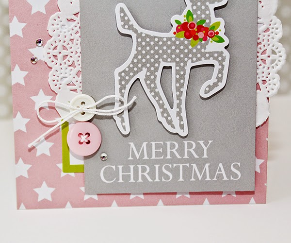 Erin Taylor Chickaniddy Crafts Christmas Card 2