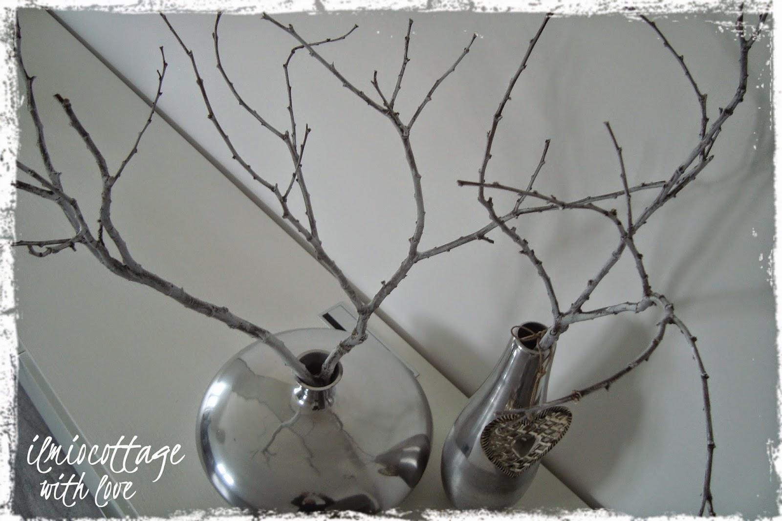 Il mio cottage novembre 2014 - Rami decorativi per vasi ...