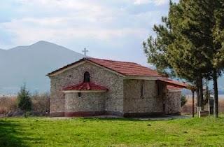 Τοιχογραφίες των παθών του Χριστού στο χωριό Φωτεινή Καστοριάς (έτ. 1830)