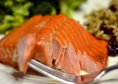 Brown Sugar Baked Salmon