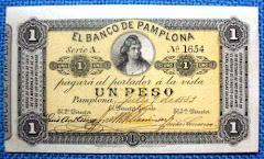 1 PESO BANCO DE PAMPLONA