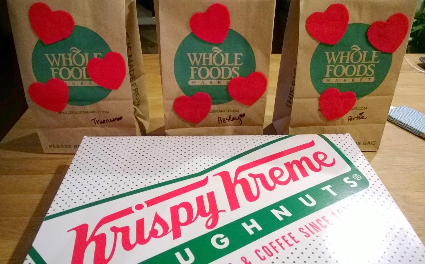 Krispy Kreme Valentine's Day