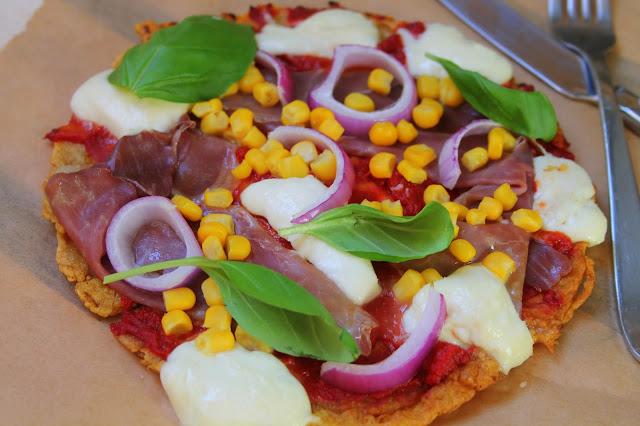 Socca pizzas