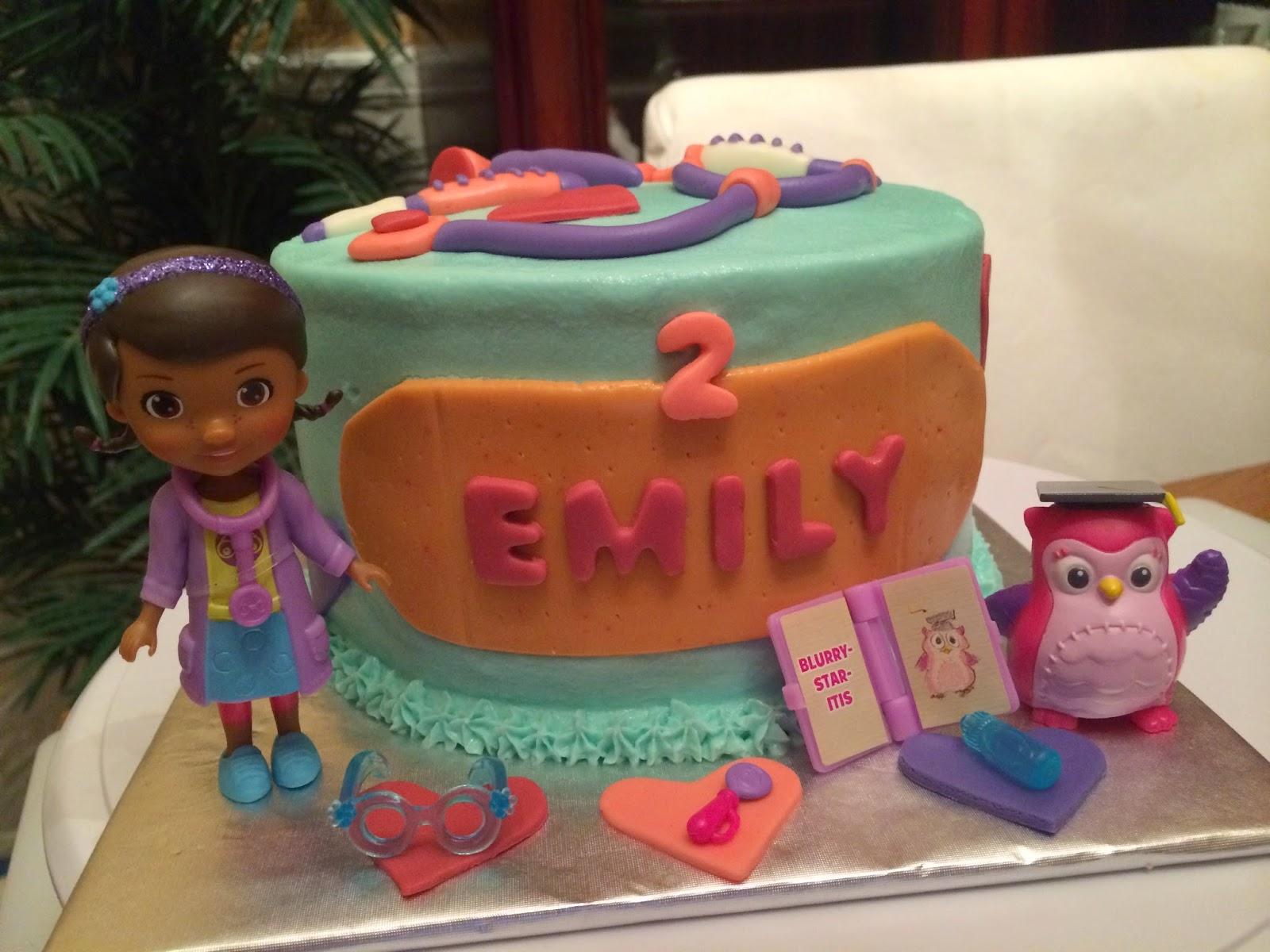 Joyce Gourmet Doc Mcstuffins Birthday Cake