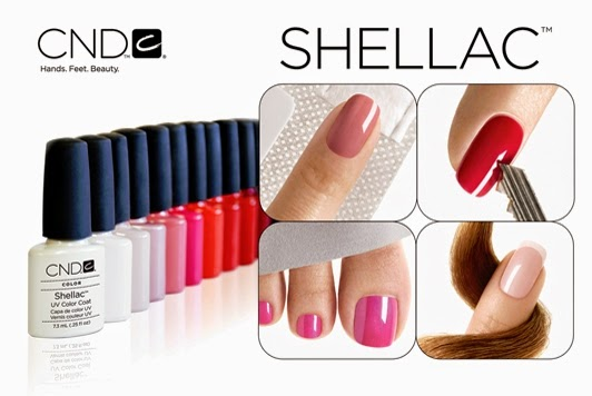 Shellac Nails Pedicure