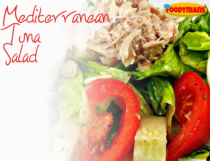 Mediterranean-tuna-salad-healthy salad-recipe