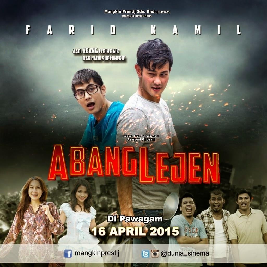 Poster Abang Lejen