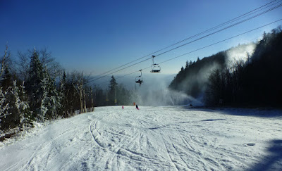 Skiing at Gore Mountain, Saturday 12/05/2015.  The Saratoga Skier and Hiker, first-hand accounts of adventures in the Adirondacks and beyond, and Gore Mountain ski blog.