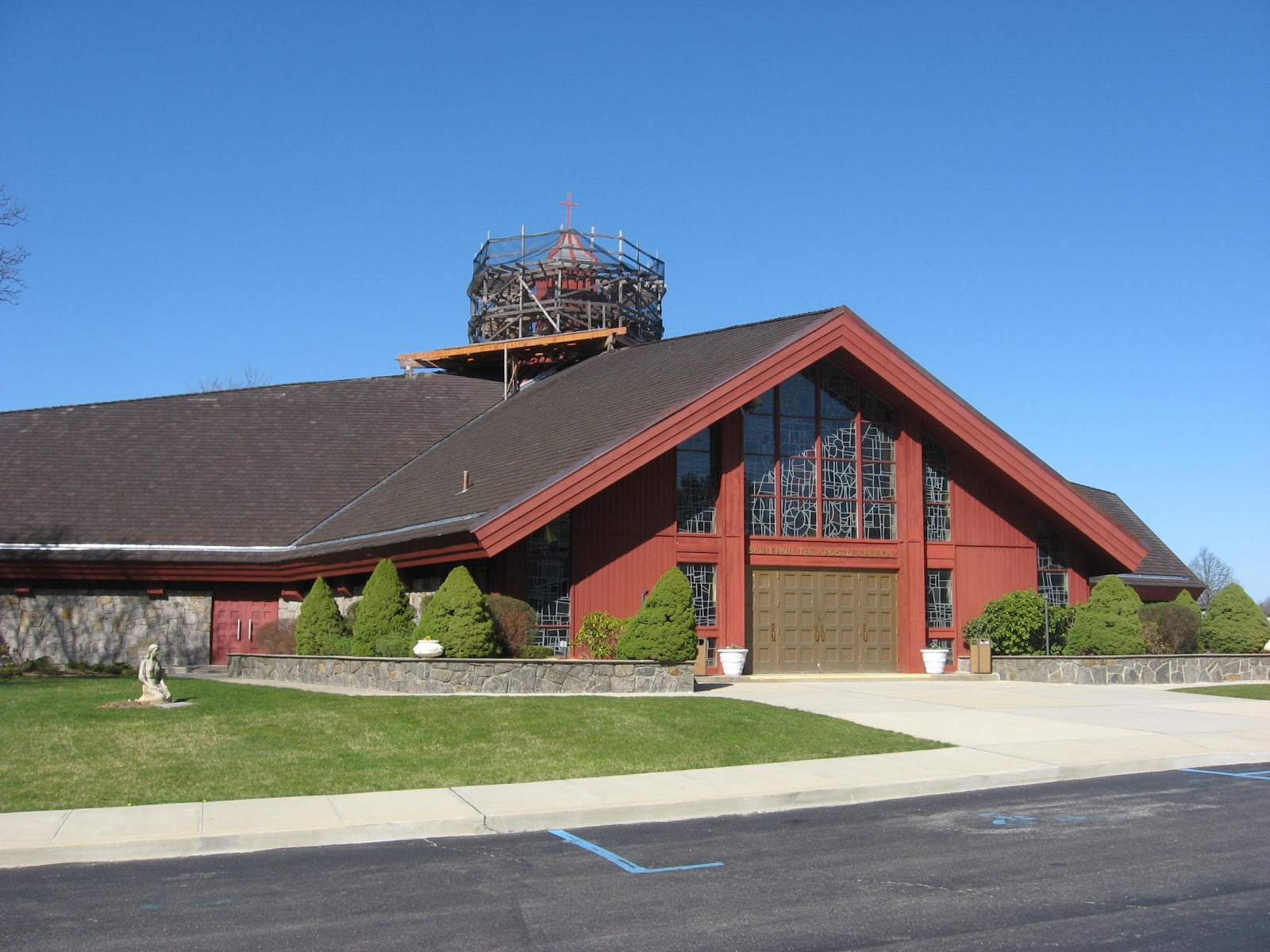 Established in 1962 the parish of st paul the apostle is located at