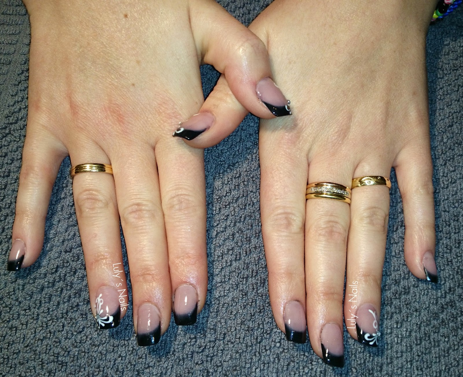 Luly\'s Nails: MANICURA CON FILIGRANAS