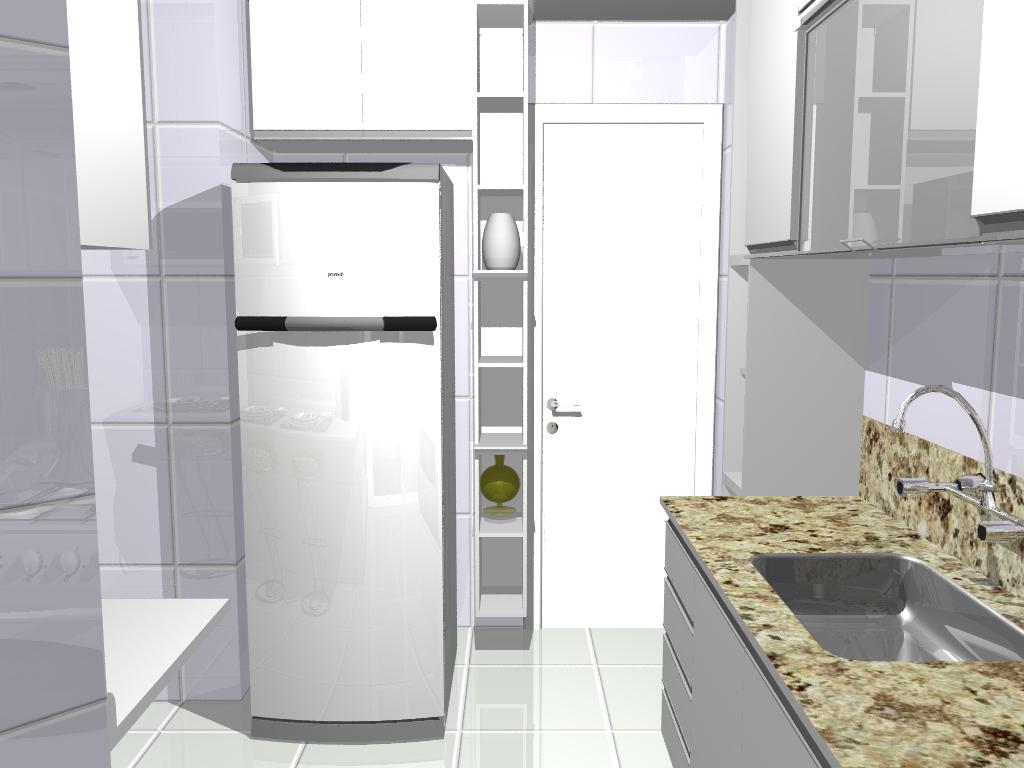 Cozinha compacta inspirada em projetos comtemporâneos com elementos  #604D32 1024 768