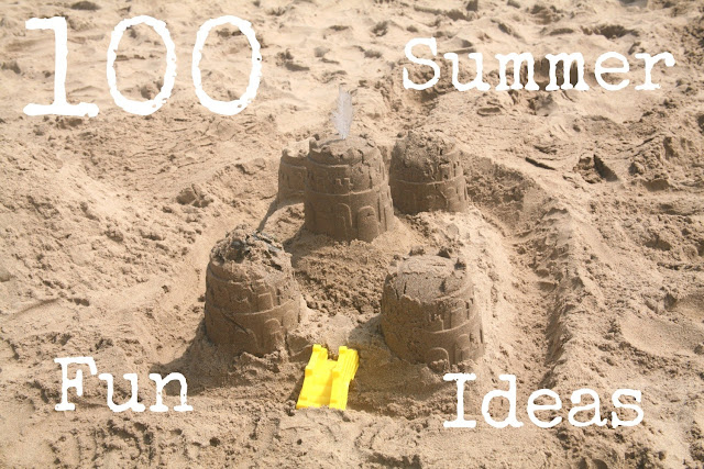 100 Summer Fun Ideas