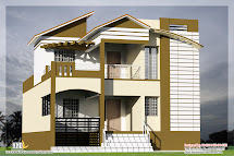 3 Bedroom South Indian House Design - Kerala Home