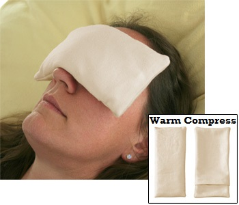 warm compress for eye