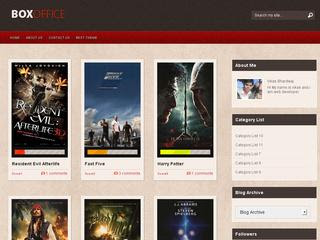 box office blogger templates.theme4all.com