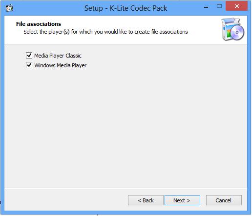 Cara Instal K-Lite Codec
