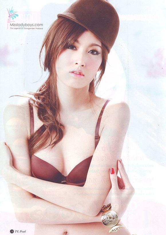 Ảnh gái xinh Thái Lan thật giả lẫn lộn 14