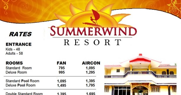 Summerwind Hot Spring Resort In Pansol Calamba Laguna