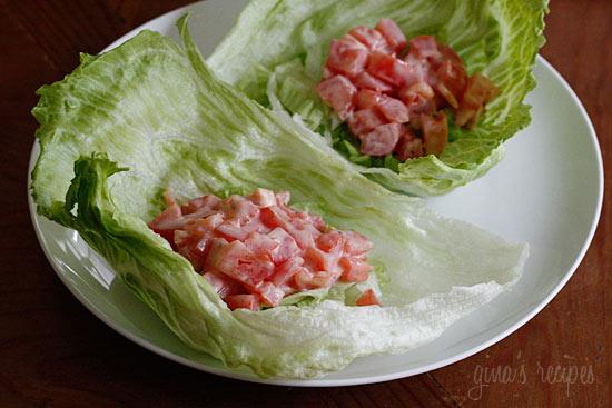BLT Lettuce Wraps | Skinnytaste