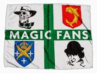 bandiera tessuto magic fans immagine