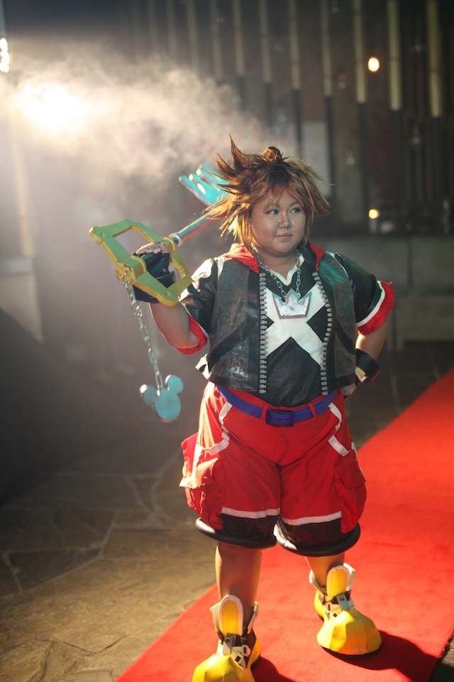 Cosplayer at the launching of VGLKLGAMEON
