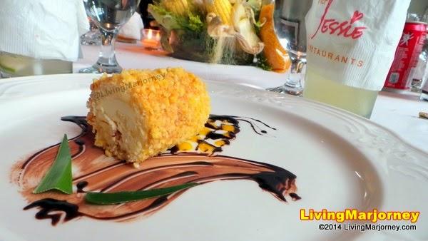 Corn Rice Crocant Roll