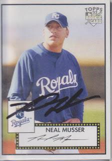 2007 Topps '52, Neal Musser 2007 Topps '52, Neal Musser nm