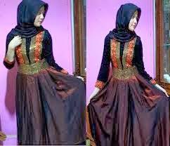 5 Gamis Dan Gaun Busana Muslim Pesta Model Trend Terbaru 2014